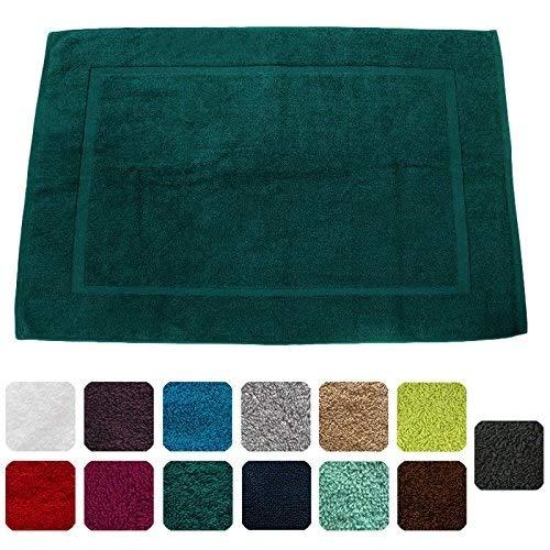 Lanudo, lussuoso tappettino da bagno, 900g/m², linea Pure Line, 60x 90 cm, con bordature,100% spugna cotone di altissima qualità, tappeto da bagno, in spugna Pink