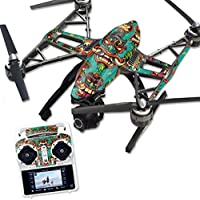 Skin For Yuneec Q500 & Q500+ Drone – Crazy Tikis | MightySkins Protective, Durable, and Unique Vinyl Decal wrap cover | Easy To Apply, Remove, and Change Styles | Made in the USA