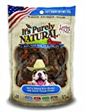Loving Pets Products It'S Purely Natural Beef And Brown Rice Biscotti With Sweet Potato Dog Treat, 4-Ounce