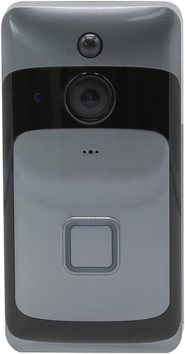 WiFi Camera Doorbell Smart IP Camera Call Intercom Video-Eye Doorbell Two-way Audio Infrared Remote Control Home Security Doorbell (Doorbell only)