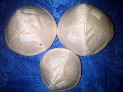 (1 side)Fake Breasts for Bra Inserts After Breast Surgery for a Breast Cancer Patient in Every Size (L (cup C))
