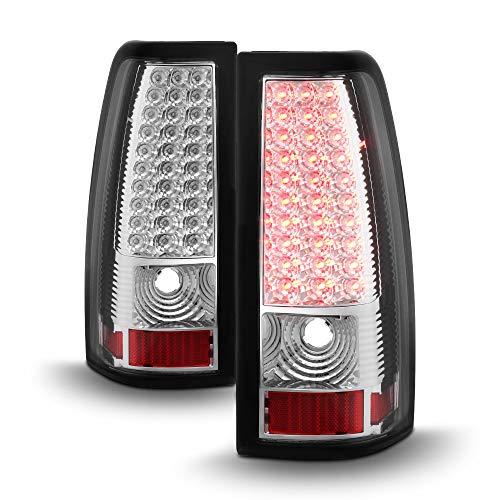 ACANII - For 1999-2006 GMC Sierra Pickup Truck LED Tail Lights Brake Lamps 99-06 Left+Right