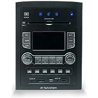 iRV Technology iRV66 AM/FM/CD/DVD/MP3/MP4/USB/SD/HDMI/Digital5.1/Surround Sound/Bluetooth 3 Zones Wall Mount RV Radio…