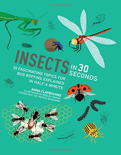 Insects in 30 Seconds: 30 fascinating topics for bug boffins explained in half a minute (Kids 30 Second) (Caterpillar Antennae)