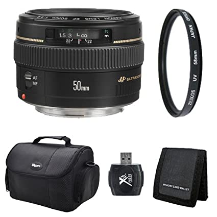 Review Canon EF 50mm f1.4