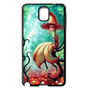 D-PAFD Customized Print Fairy Hard Skin Case Compatible For Samsung Galaxy Note 3 N9000