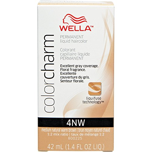 wella color charm 4nw - 6