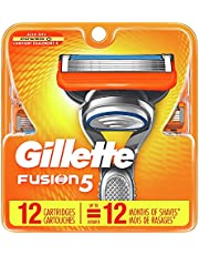 Gillette Fusion5 Mens Razor Blade Refill Cartridges 12 Count