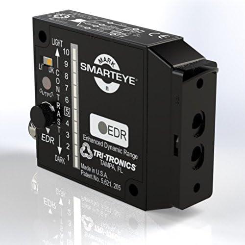 Knob Adjust Fiberoptic Adapter Optical Block SERKF1 General Purpose Photoelectric Sensor Mark II Smarteye Red