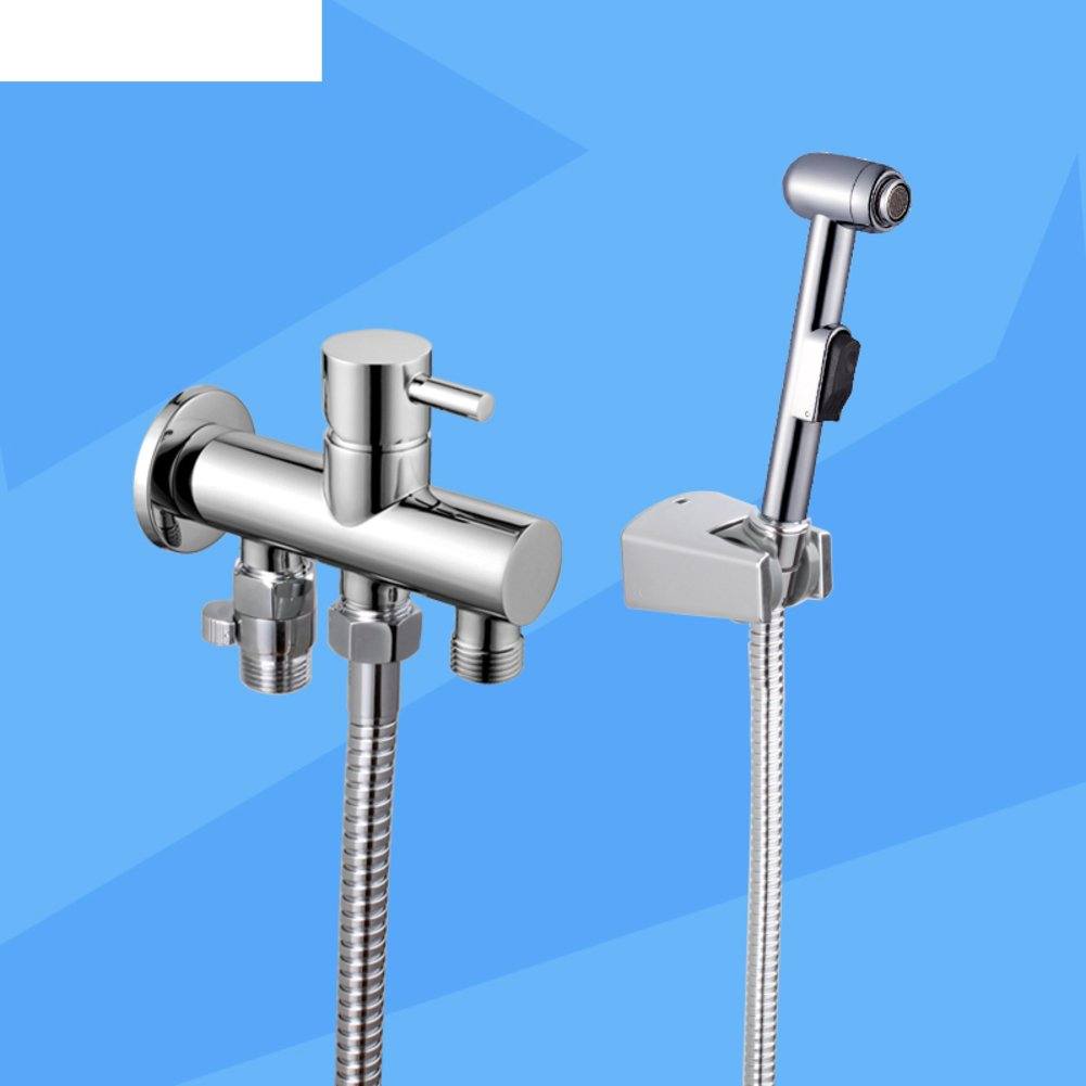 85%OFF Longer soft water bidet nozzle/All copper hot and cold faucet Set-A