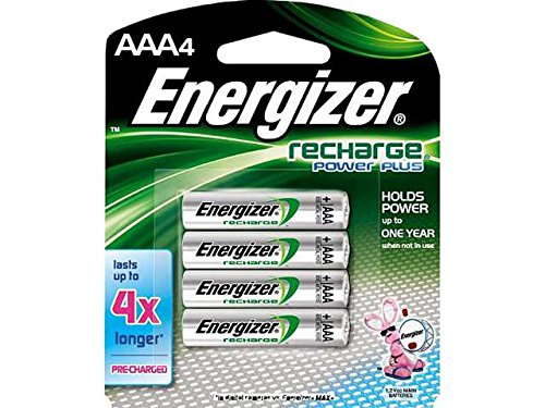 2 X Energizer NH12BP Rechargeable Nickel Metal Hydride AAA Battery, 8-Count