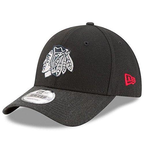 Chicago Blackhawks New Era杢The Leagueブラック調節可能な帽子/キャップ   B0716L35RS