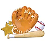 PERSONALIZED CHRISTMAS ORNAMENTS SPORTS- BASEBALL GLOVE