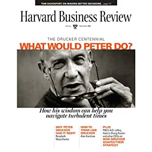Harvard Business Review, November 2009 Periodical