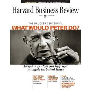 Harvard Business Review, November 2009 Periodical