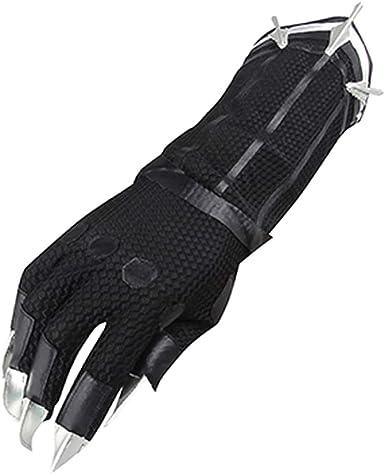 COSKEY - Guantes de disfraz de pantera negra, guantes de leopardo ...