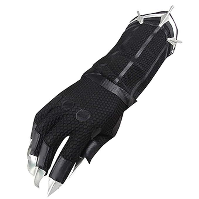 Amazon.com: COSKEY - Guantes de disfraz de pantera negra con ...
