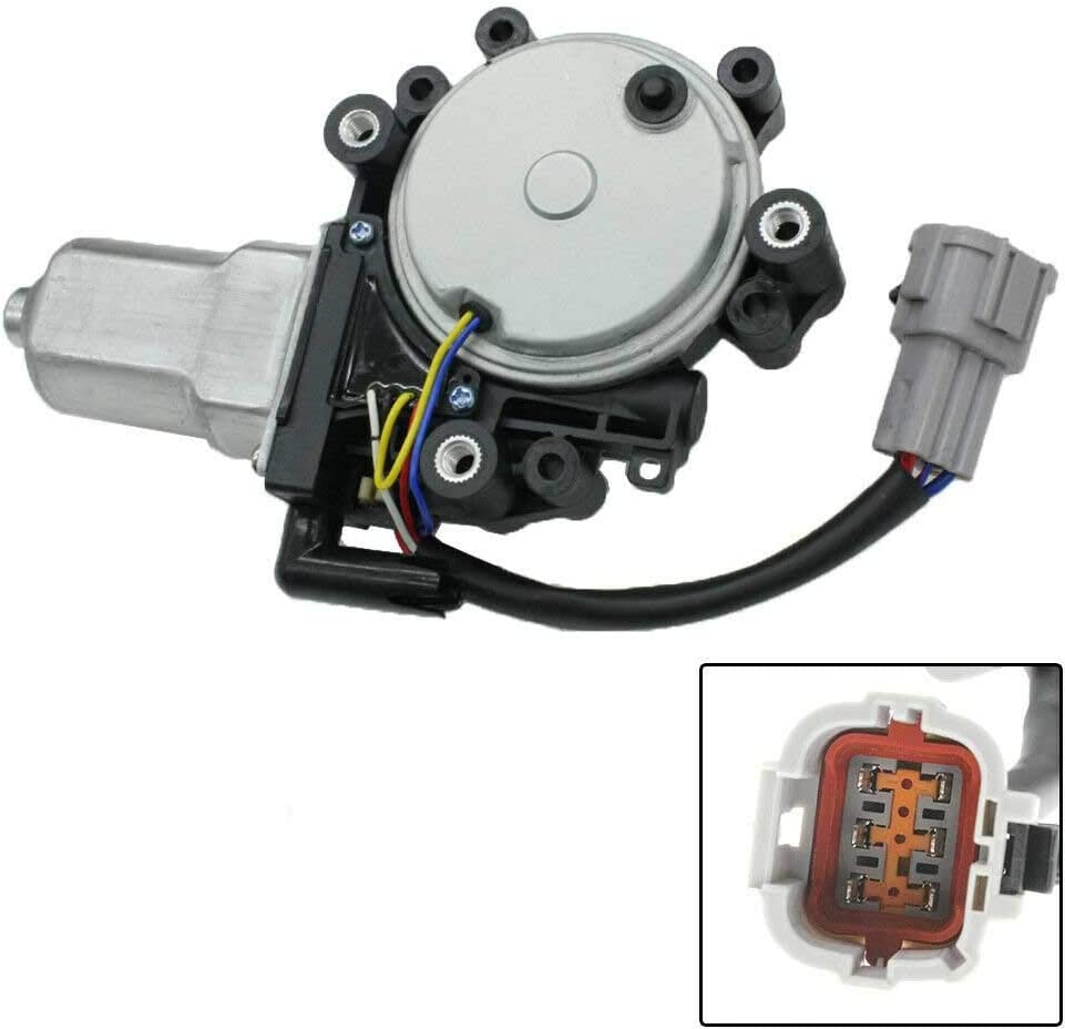 NovelBee 80731-9FJ0A Power Window Lift Motor Front Left Driver Side Replacement for 2004-2014 Nissan Titan,2005-2014 Nissan Armada,2004 Nissan Pathfinder Armada,2004-2011 Infiniti QX56