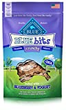 Blue Crunchy Bits Blueberry & Yogurt Dog Treats 3-Oz Review