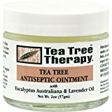 tea tree oil balm - Tea Tree Therapy Antiseptic Ointment Oil, Eucalyptus Australian and Lavender, 2 Ounce