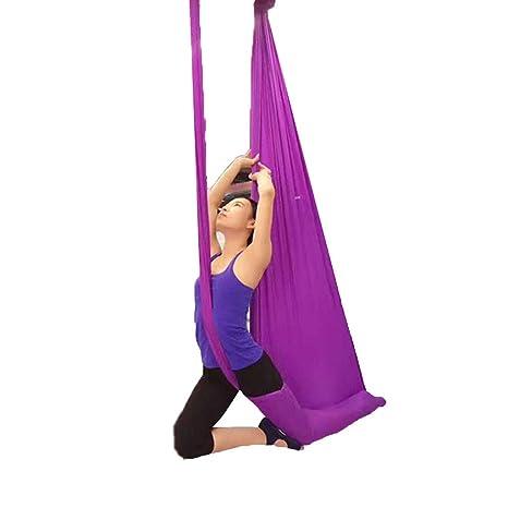 Hamaca de yoga Aérea de yoga Hombre volador Aéreo Hamaca de ...