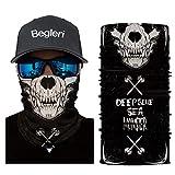 2 x Rave Hood Face Mask 3D Bandana Gaiter