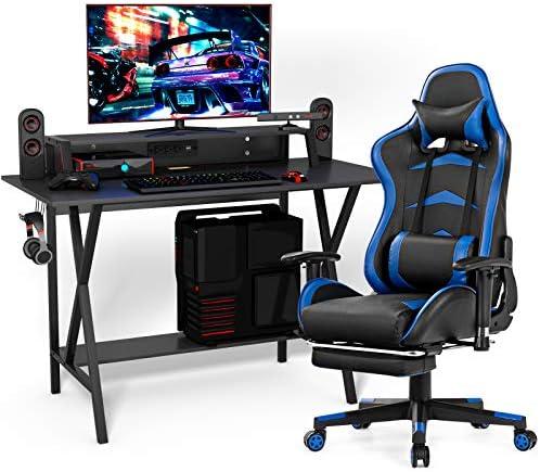 Tangkula Gaming Desk and Chair Set