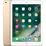 Apple iPad with WiFi + Cellular, 32GB, Gold (2017 Model) (Certified Refurbished)