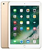 Apple iPad with WiFi + Cellular, 32GB, Gold (2017 Model) (Renewed)