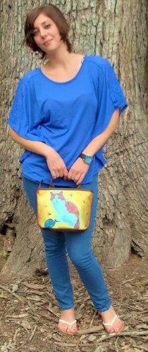 Panda Small Handbag and Coin Purse - Matching Gift Set - Great for Young Girls by Salvador Kitti (Image #3)