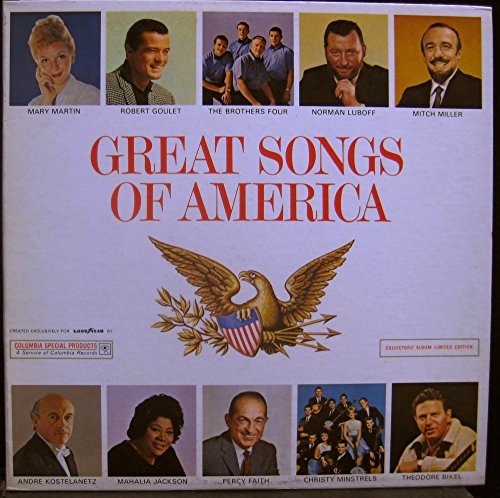 Price comparison product image VARIOUS - GOODYEAR TIRES PROMO GREAT SONGS OF AMERICA vinyl record