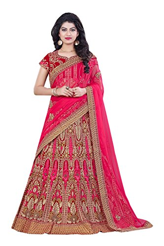 PCC Indian Women Designer Wedding pink Lehenga Choli K-4571-40095