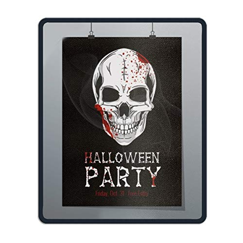 Mouse Pads Halloween Printable Flyer Theme Computer Mouse Mat- Stylish, Durable Office Accessory and Gift for $<!--$4.76-->