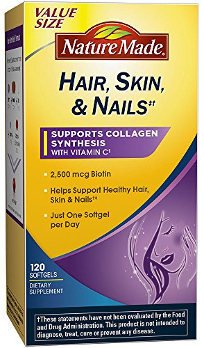Nature Made Nails Biotin Softgels product image