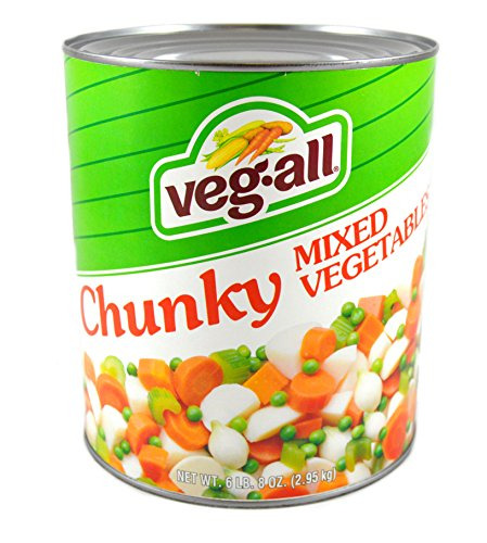 Veg-All Mixed Vegetables for Stews - no. 10 can, 6 cans per case by Seneca Foods Corporation