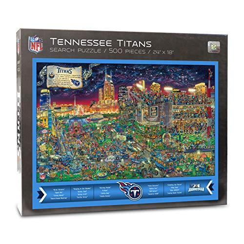 - NFL Tennessee Titans Joe Journeyman Puzzle - 500-piece
