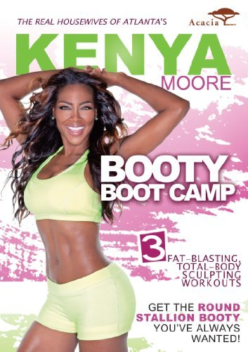 Kenya Moore: Booty Boot Camp [DVD] [Region 1] [US Import] [NTSC]