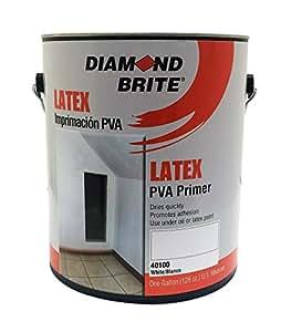 Diamond Brite Paint 40100 1 Gallon Interior Exterior Latex Pva Primer Sealer Home