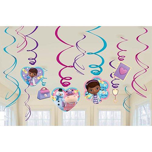 Foil Swirl Value Pack Decorations | Disney Doc McStuffins Collection | Party Accessory ()