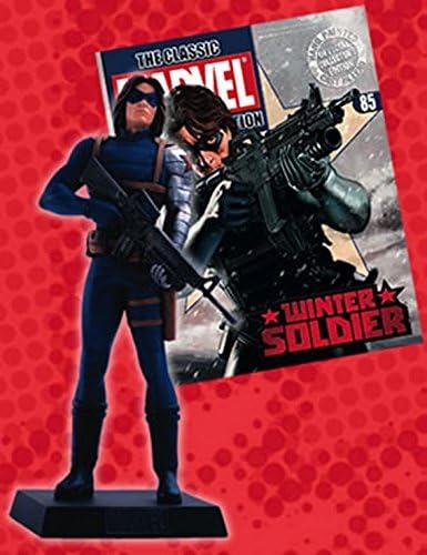Figurine plomb super héros Marvel Eaglemoss 85 WINTER SOLDIER eaglemoss