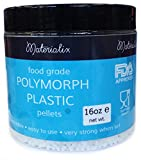 Food Grade Polymorph Plastic (FDA approved/EU Food Grade) by Materialix. 16oz tub. Moldable plastic [polydoh, plastimake]