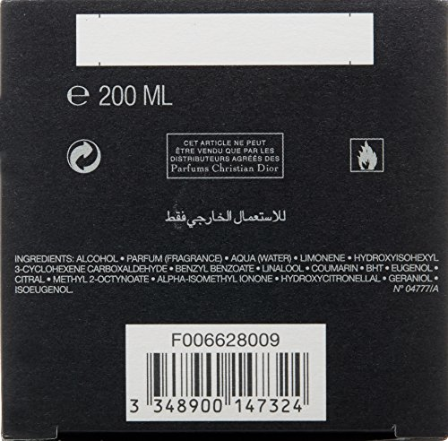 Fahrenheit By Christian Dior For Men. Eau De Toilette Spray 6.8 Oz. by Dior (Image #2)