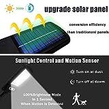 Solar Street Lights 2 Pack Remote Control Solar