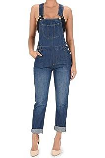347236265dd24 Amazon.com  G-Style USA Women s Corduroy Overalls  Clothing