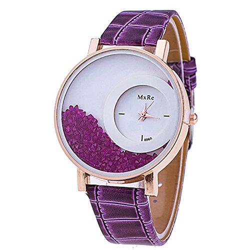 2016 Relogio Feminino Reloj Watch Women Femme Rhinestone Pu Leather Casual  Quartz Watch Bracelet Wristwatch Women 73feaece49