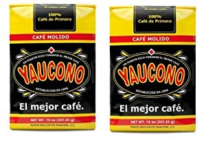Amazon.com : Two 14 Oz. Coffee Bags Package Puerto Rican