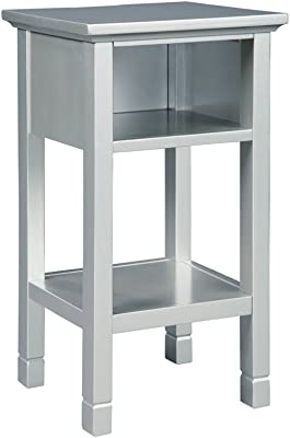 Signature Design by Ashley A4000087 Marnville Accent Table, Silver