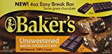 Baker's, Unsweetened Chocolate, 4 oz (Packaging May Vary)