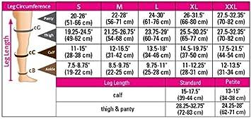 Calf High Closed Toe 15-20 mmHg duomed Advantage