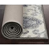 Maples Rugs Blooming Damask Non Slip Runner Rug For